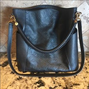 Louis Vuitton Noir Monogram Empriente Bagatelle